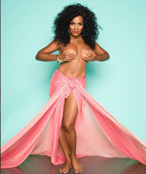 Actress Vanessa Bell Calloway strips down to celebrate 9-years Breast Cancer free