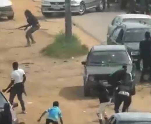 Photo of Video from the clash between Nigerian Army officers and Shi'ite members in Abuja