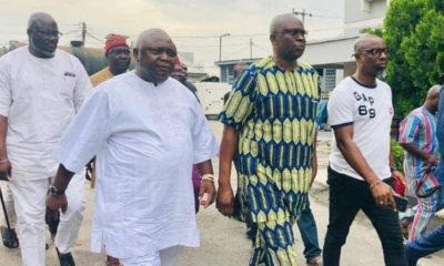 Fayose finally regains freedom after two weeks in EFCC detention