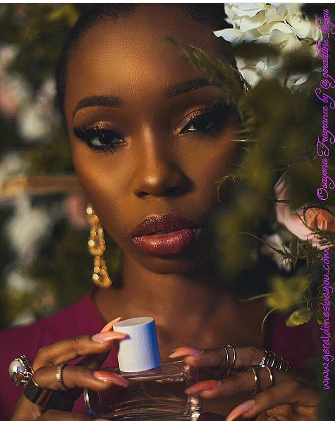 Photo of BBNaija's BamBam looks charming as she launches perfume campaign