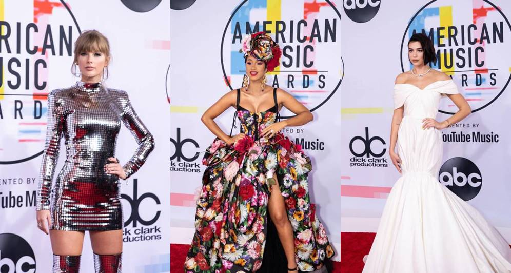 Best-dressed celebrities at the 2018 American Music Awards (Photos)