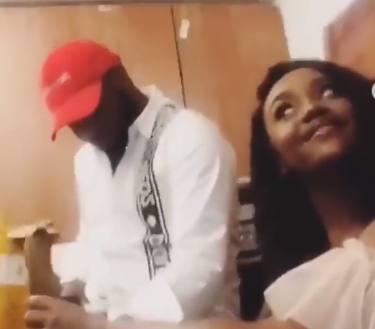 Davido and Chioma hang out last night amidst reports of their breakup