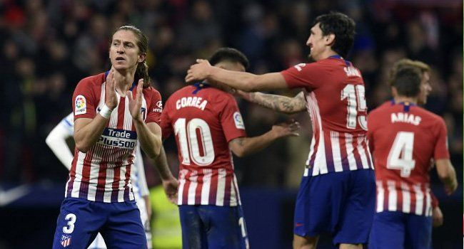 LaLiga: Atletico Madrid go top of Spanish League table