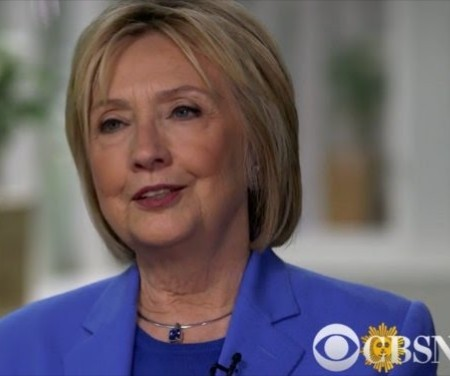 Photo of Hillary Clinton says her husband, Bill Clinton's affair with Monica Lewinsky was not an abuse of power (video)