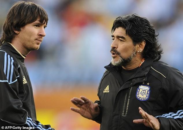 Messi's family brand Diego Maradona 'ignorant' for discrediting the Barcelona star