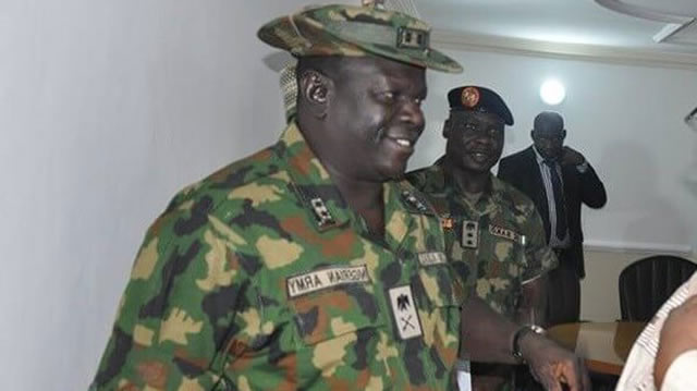 Photo of Missing General: Army recovers car buried with occupants