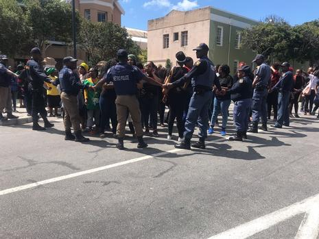 OmotosoTrial: Angry protesters harass 'rubbish' defence lawyer Daubermann