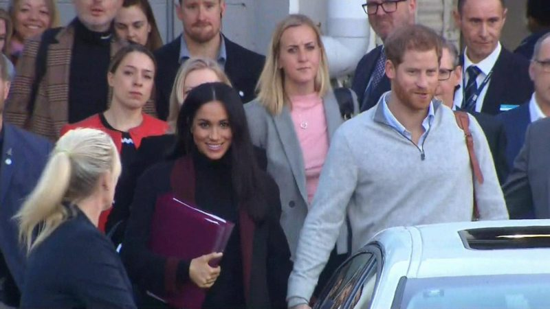Prince Harry , Meghan Markle land in Australia