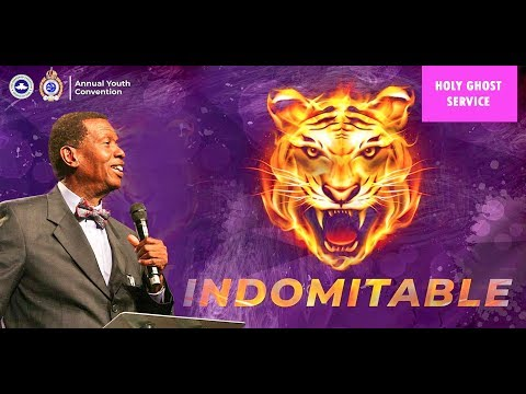 RCCG October 2018 Holy Ghost Service  – Indomitable – Watch LIVE