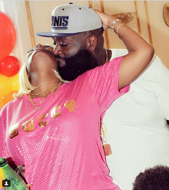 Rick Ross and his pregnant girlfriend Briana Camille