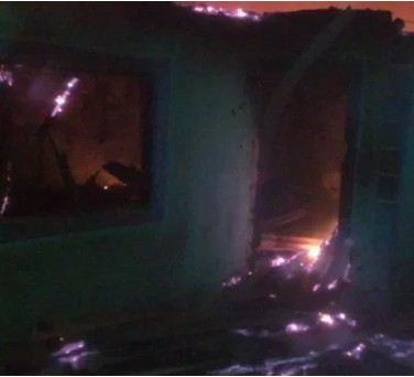 Twin brothers die in fire outbreak after their mother abandoned them have romance with her boyfriend