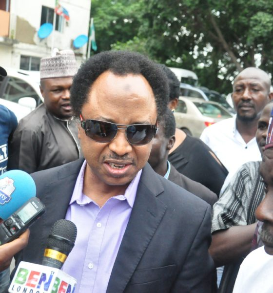 Shehu Sani finally released from EFCC custody