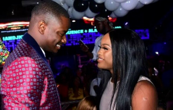 Photo of Video of Ceec and Leo getting cozy at an event