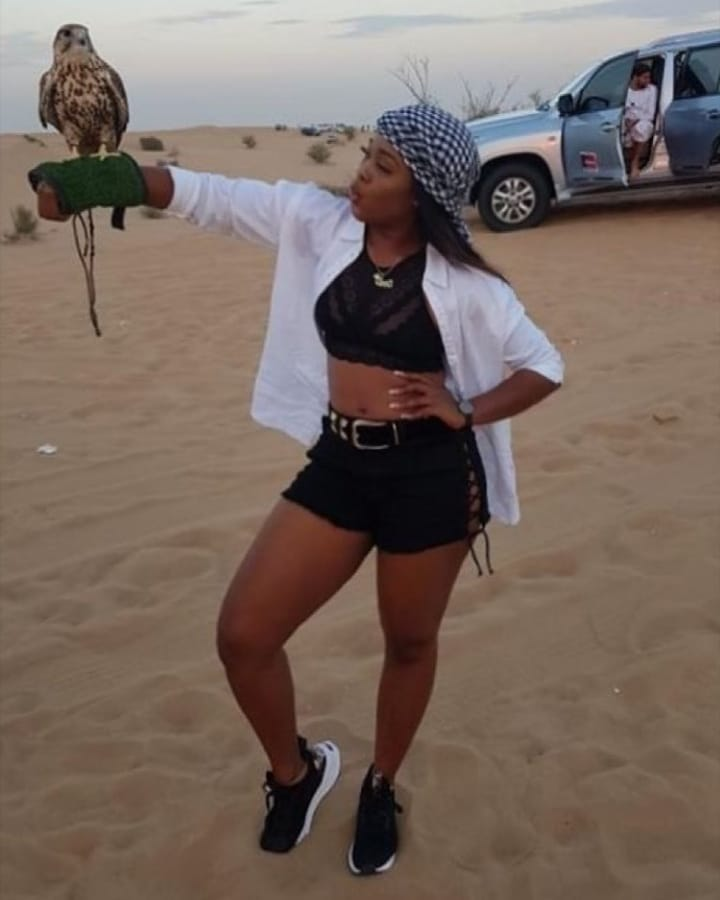 Photo of Cee C shares beautiful and warmth moment in Dubai (photos/video)