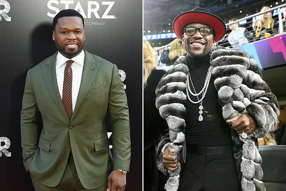 50 Cent trolls Floyd Mayweather over next scheduled fight with Tenshin Nasukawa