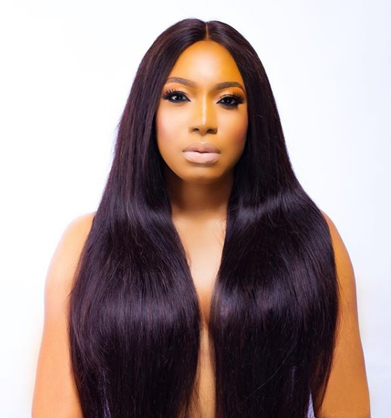 Chika Ike celebrates birthday with topless photo