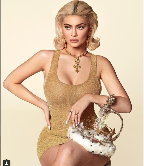 Photo of Kylie Jenner shows off her curves in hot new photos