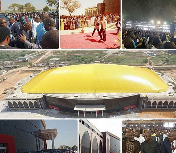 Photo of Daddy Freeze reacts to dedication of wolrd's biggest church auditorium in Abuja