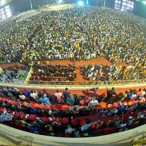 Photo of Dunamis Live Service 3 March 2019 Broadcast at Glory Dome