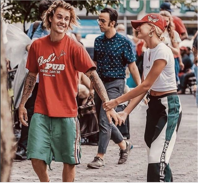 Photo of Justin Beiber shares a lovely photo with his wife, Hailey Baldwin