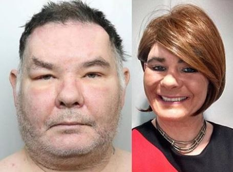 Photo of 52-year old transgender prisoner sent to male prison for sexually assaulting female inmates