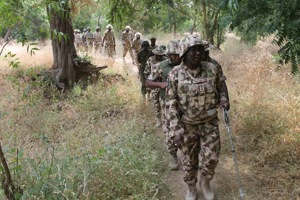 Photo of Nigerian soldiers kill 105 Boko Haram members