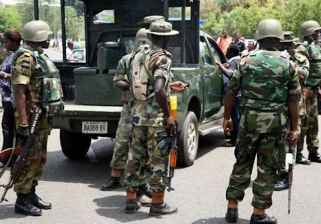 Army counters Police