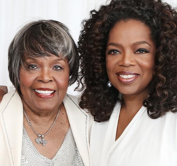 Photo of Oprah Winfrey's mum dies at 83