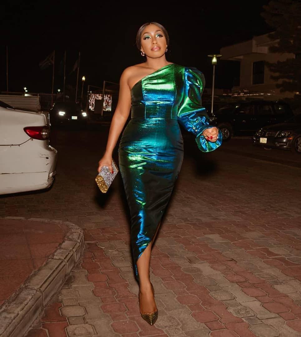 Photo of Actress Rita Dominic dazzles in stunning monostrap dress (Photos)