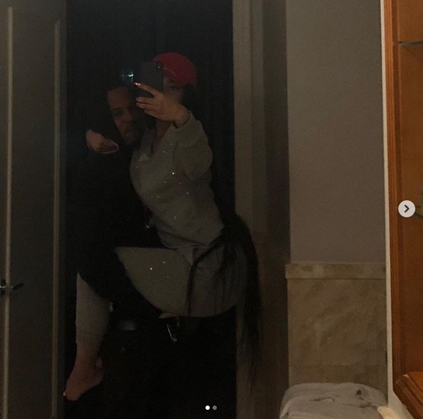 Nicki Minaj shares more sultry photos with her new man who is a convicted rapist and a murderer