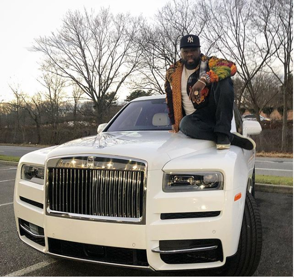Photo of 50 Cent buys himself $440k Rolls Royce for Christmas, posts receipt