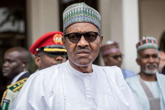 Borno residents boo Buhari during visit