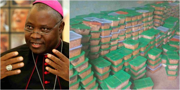 Photo of Catholic bishop feeds 991 inmates in Jos prison
