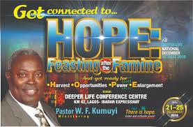 Photo of Deeper Life Bible Church 2018 December Retreat Live Broadcast