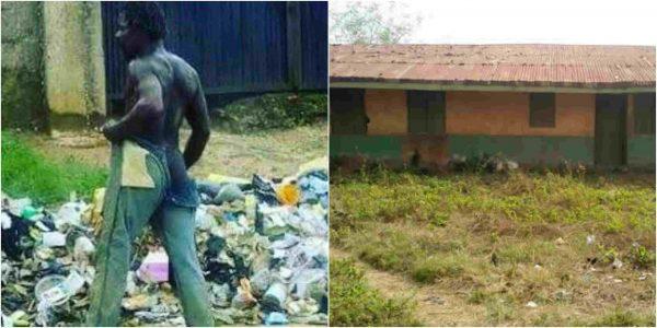 Mad man in Ekiti schools