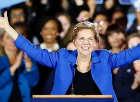 Senator Elizabeth Warren declares to run for presidency in 2020 against Trump