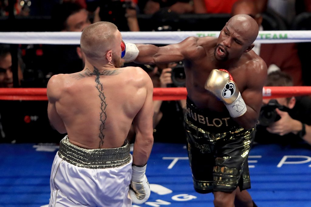 Floyd Mayweather beats 20-year-old Japanese Nasukawa