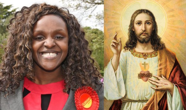 Photo of London based Nigerian Lawmaker compares herself to Jesus after being found guilty of lying