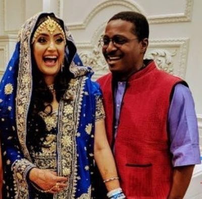 Photo of Toyin Subair ties the knot with Indian lover