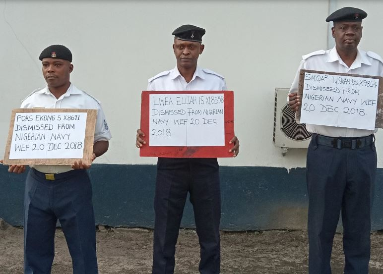 Photo of Nigerian Navy dismisses three personnel over theft on Tompolo's property in Delta State