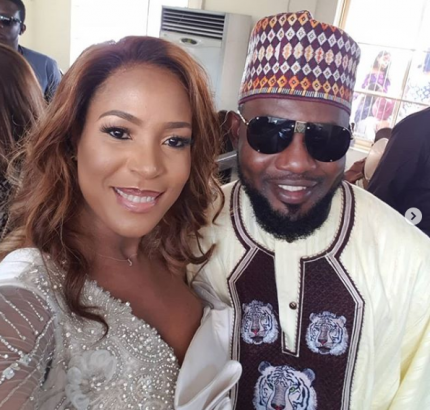 Linda Ikeji dedicates son in church, called out over 'billionaire' IG post