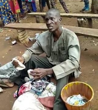 Pastor caught with bag containing female pants and bra in Edo state