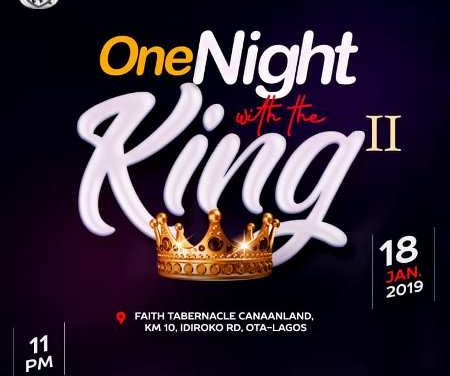 Winners' Chapel Live Broadcast: 2019 One Night With the King Part II