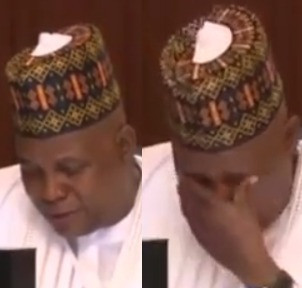Governor Shettima weeps at meeting with Buhari