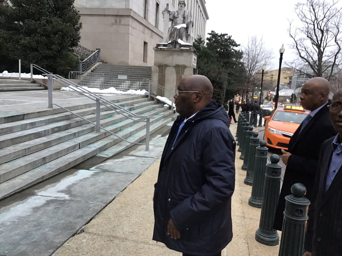 Atiku Abubakar visits US Congressman Smith