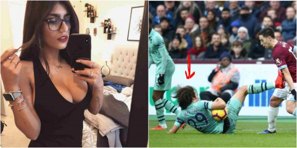 Ex Porn Star Mia Khalifa slams Arsenal FC player for not being fit
