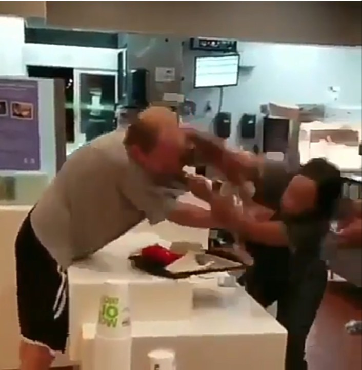 Florida man attacks a McDonald's employee
