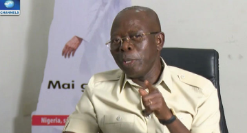Adams Oshiomhole Involved In Accident