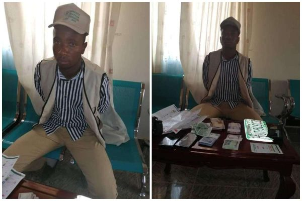 Photo of Fake election observer arrested with ballot papers in Jigawa