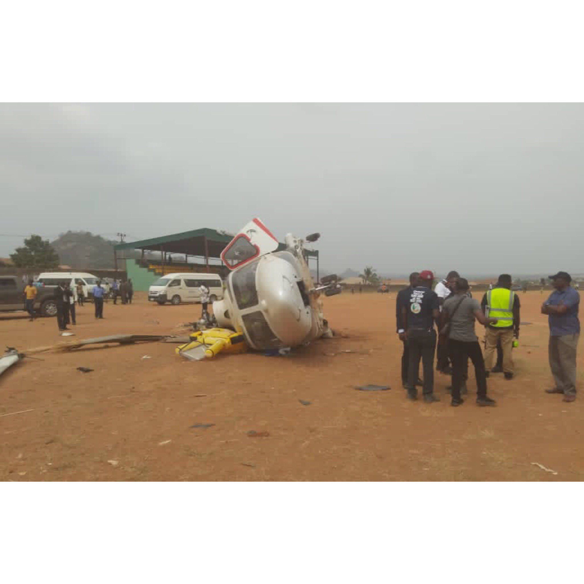 Video of Osinbajo's helicopter crash